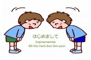 Làm quen bằng tiếng Nhật